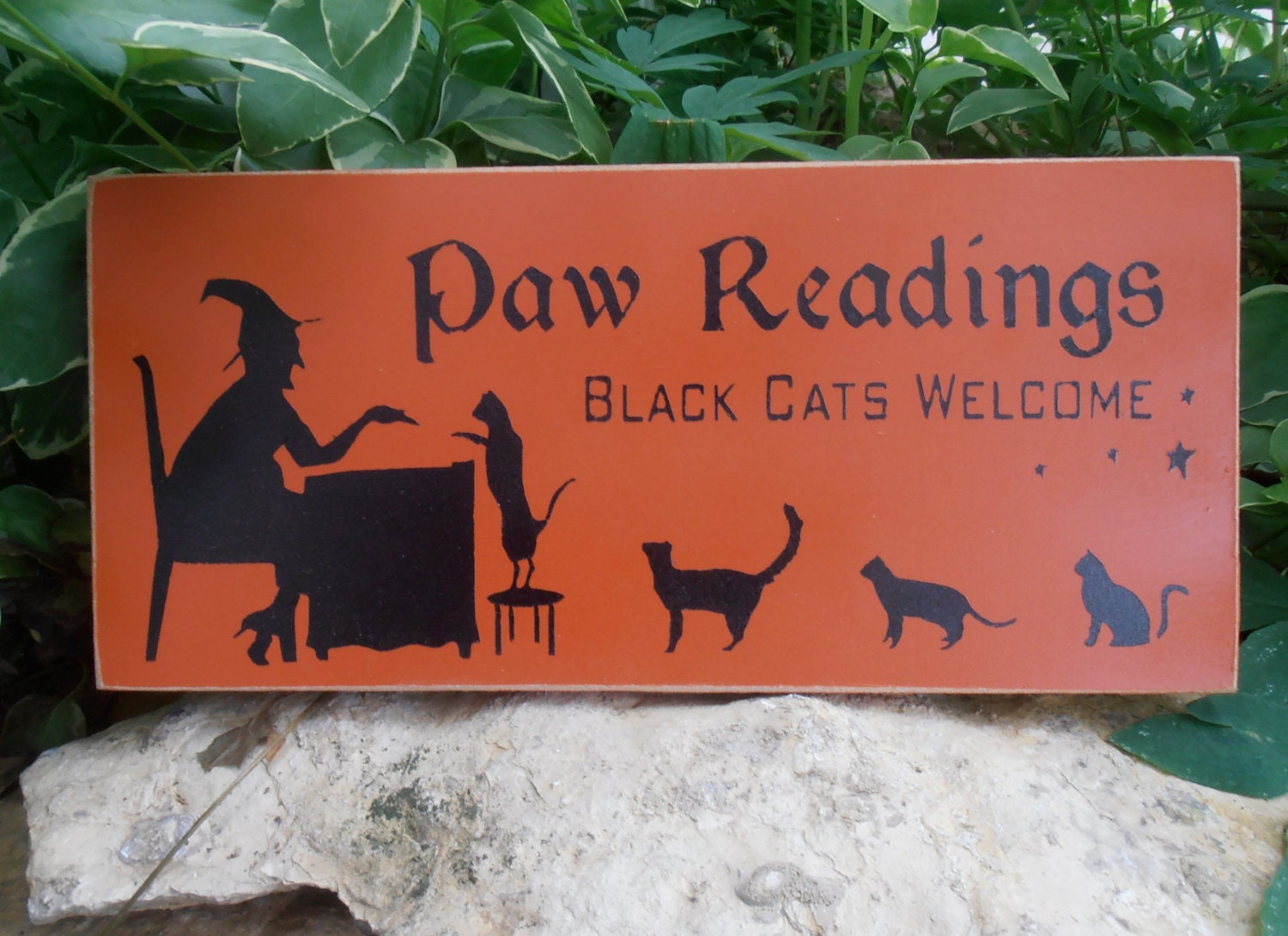 Paw Reading Black Cats Welcome