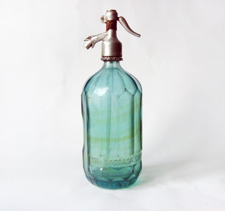 Vintage Seltzer Bottle 105