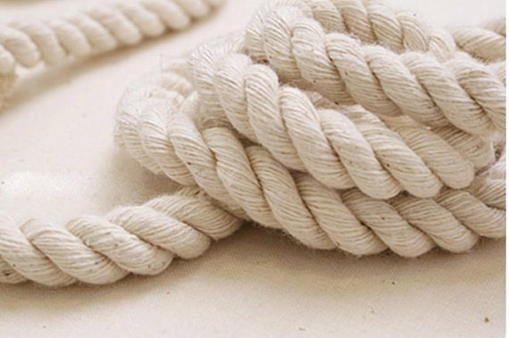 5 Yards Linen Cotton Rope Decorative Rope Cotton Cord by ...