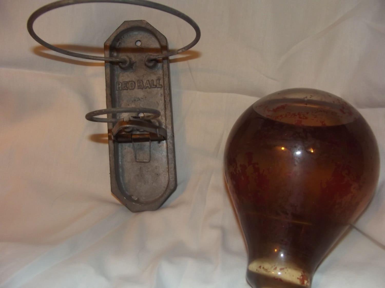 Antique fire extinguisher balls