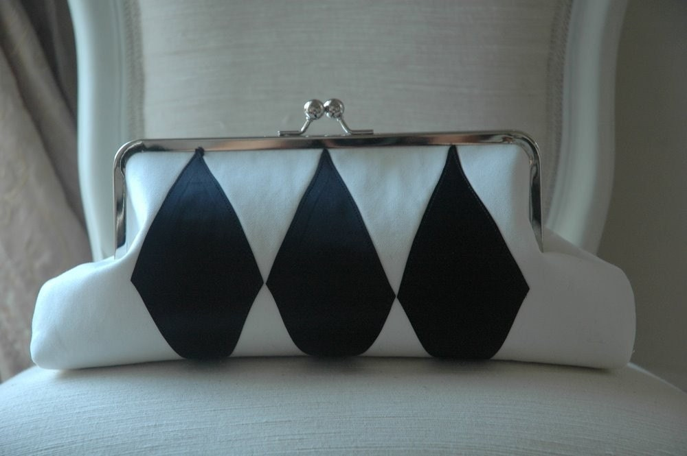Clutch Purse HARLEQUIN Domino