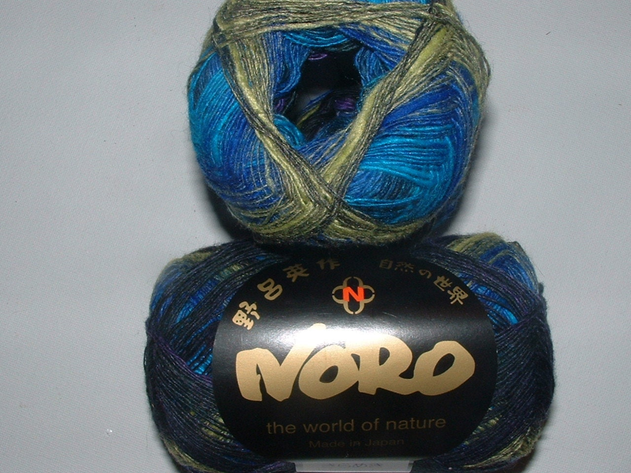 Noro Kirameki Blues 450m/skein