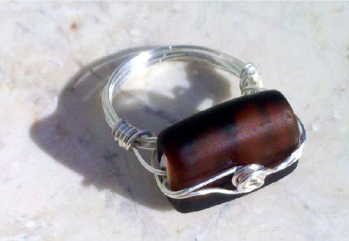 Brown Betty Ring Size 12