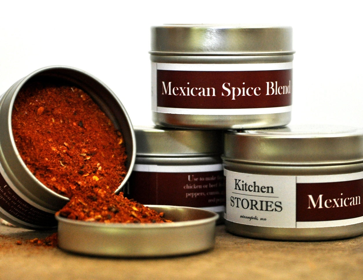 Mexican Spice Blend for the Vacation and Margarita loving person in you.  Hola, Fiesta Time.