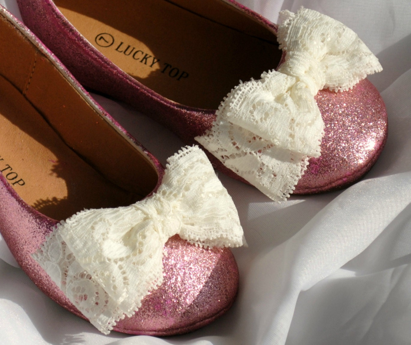 20% Off With Discount Code Toddler Glitter Ballet Flats