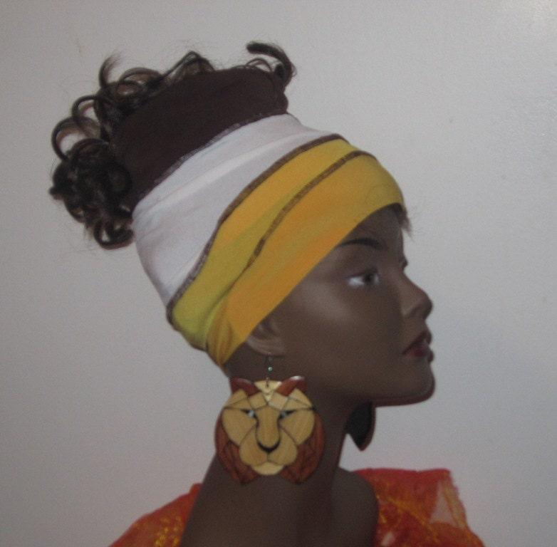 Bananna Split Locs - Hair Hugger - SKU: WWJ182