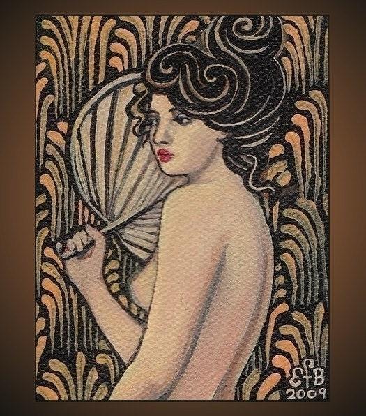Onyx Goddess - 8x10 Print