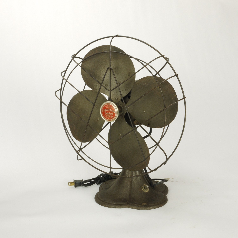 Vintage Emerson Jr 12 inch Oscillating Electric by DailyMemorandum