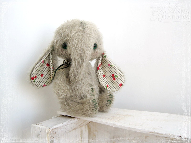furry stuffed animal children's gift handmade