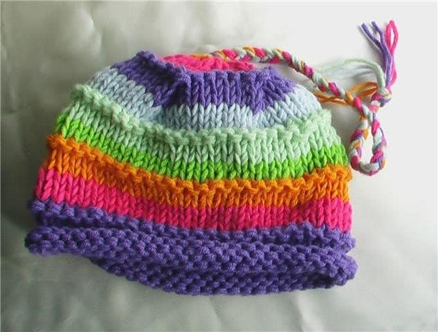 COLORFUL STRIPES HAT-FREE SHIPPING
