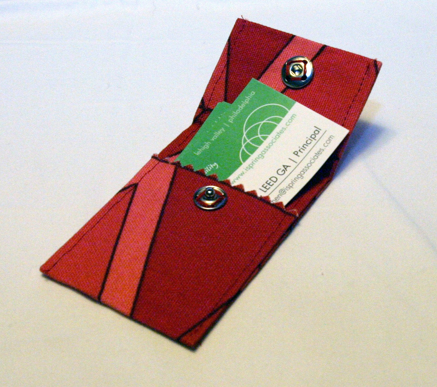 Items similar to upcycled upholstery sample business card for Upholstery business cards