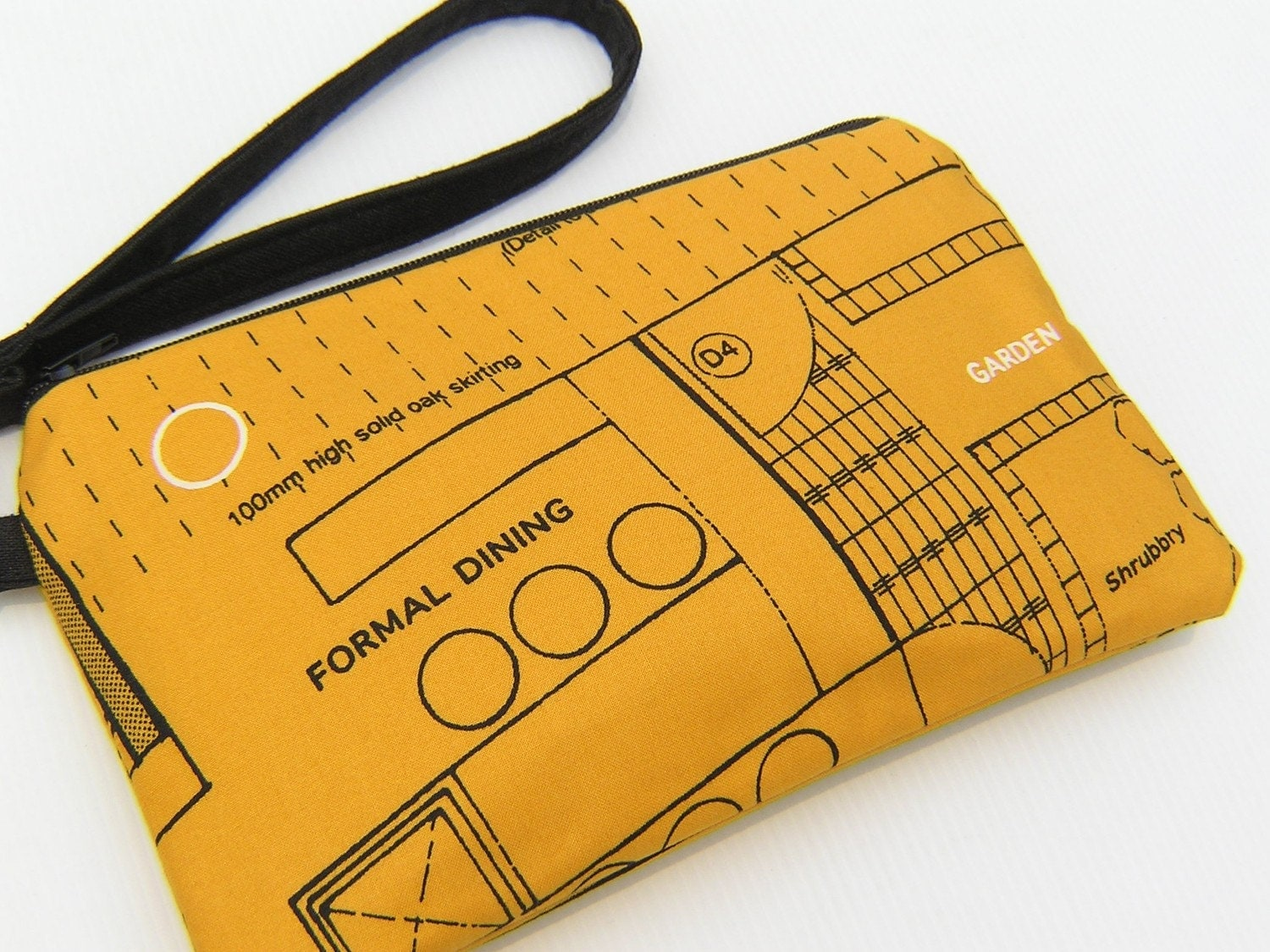 Wristlet/Zipper pouch - Floor plan