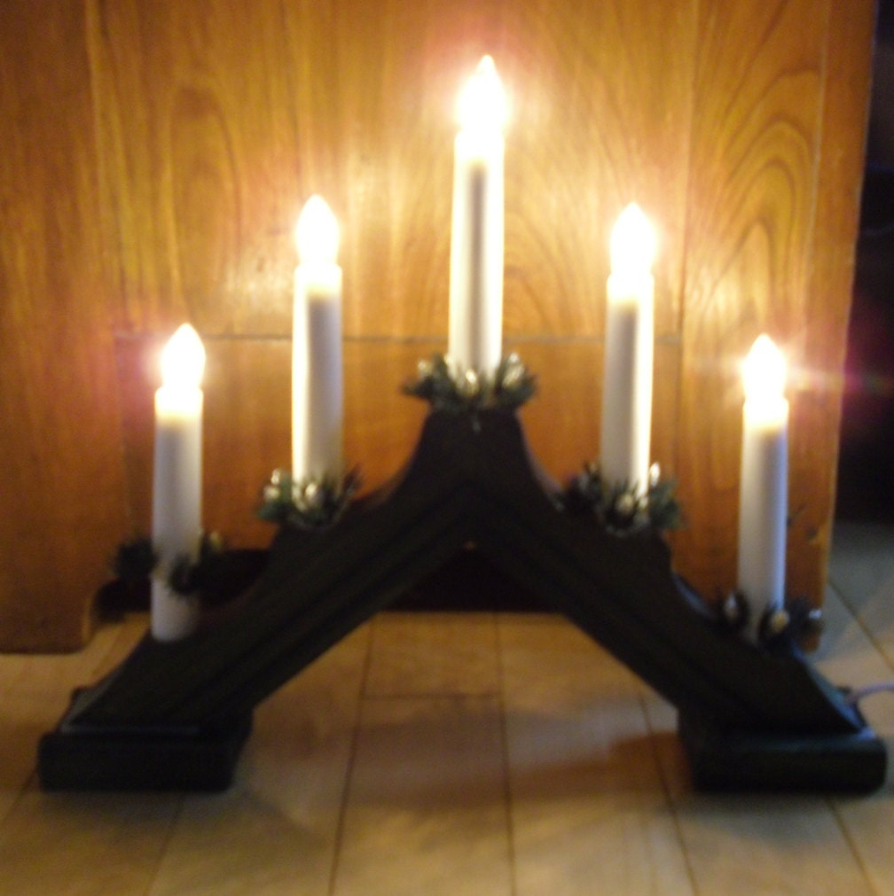 Traditional Electric Christmas Candles