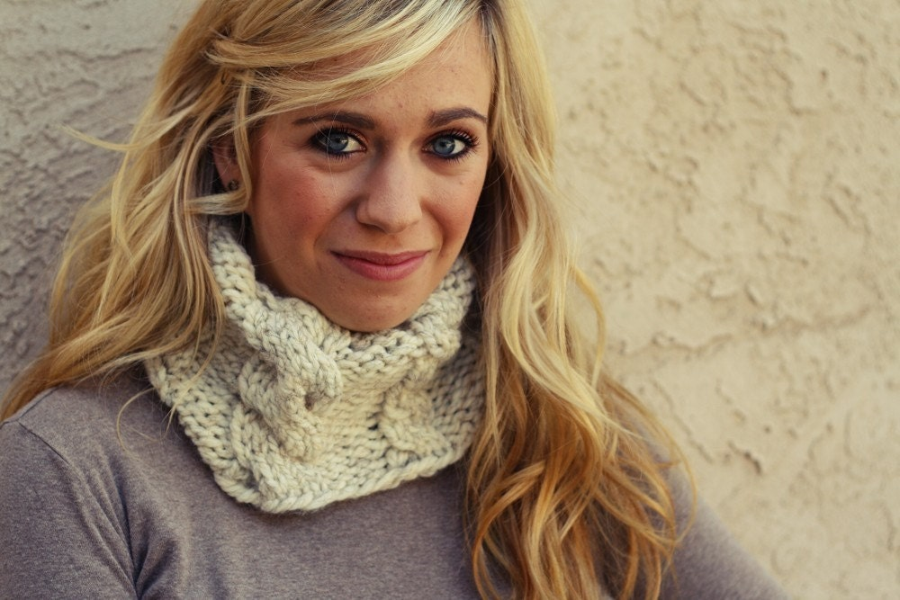 the COFFEE cowl / color wheat