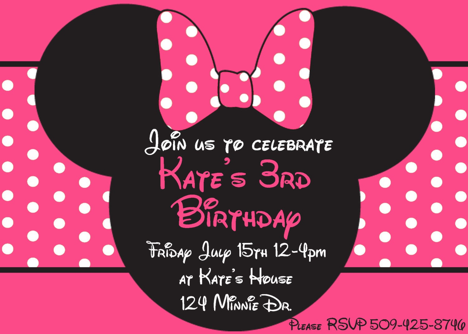 minnie mouse printable party invitations com minnie mouse head invitation template