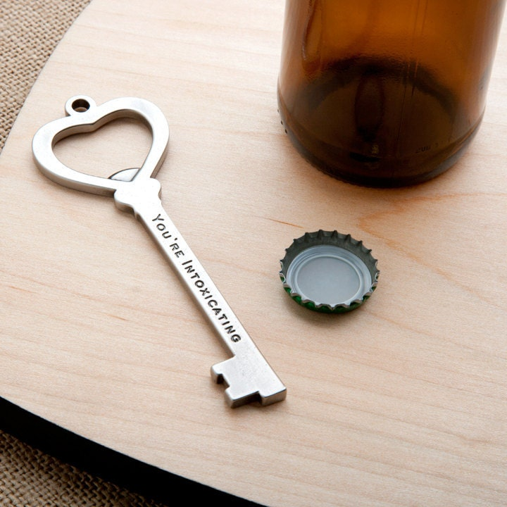 items similar to key bottle opener you 39 re intoxicating. Black Bedroom Furniture Sets. Home Design Ideas