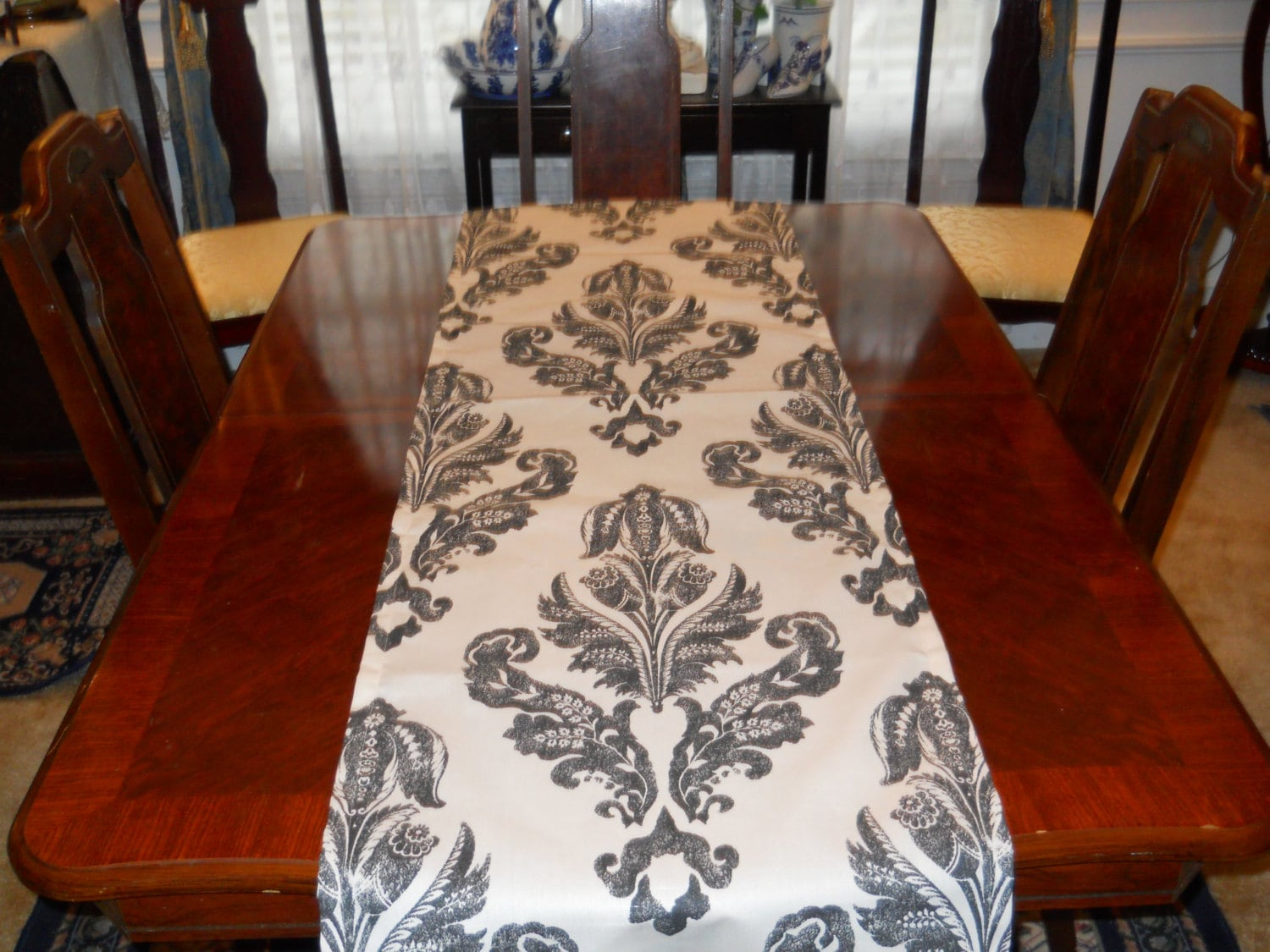 table runner dining room kitchen table cloth french indoor outdoor