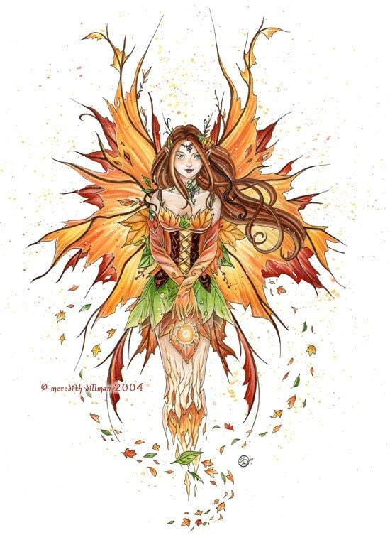 Autumn Sprite 8x10 print