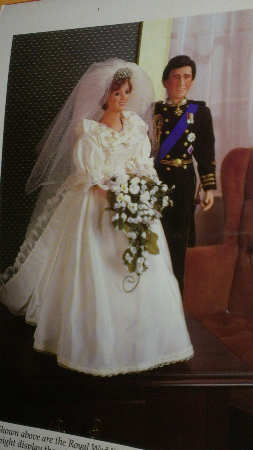 Items Similar To Princess Diana Bride Doll And Prince Charles All Paperwork