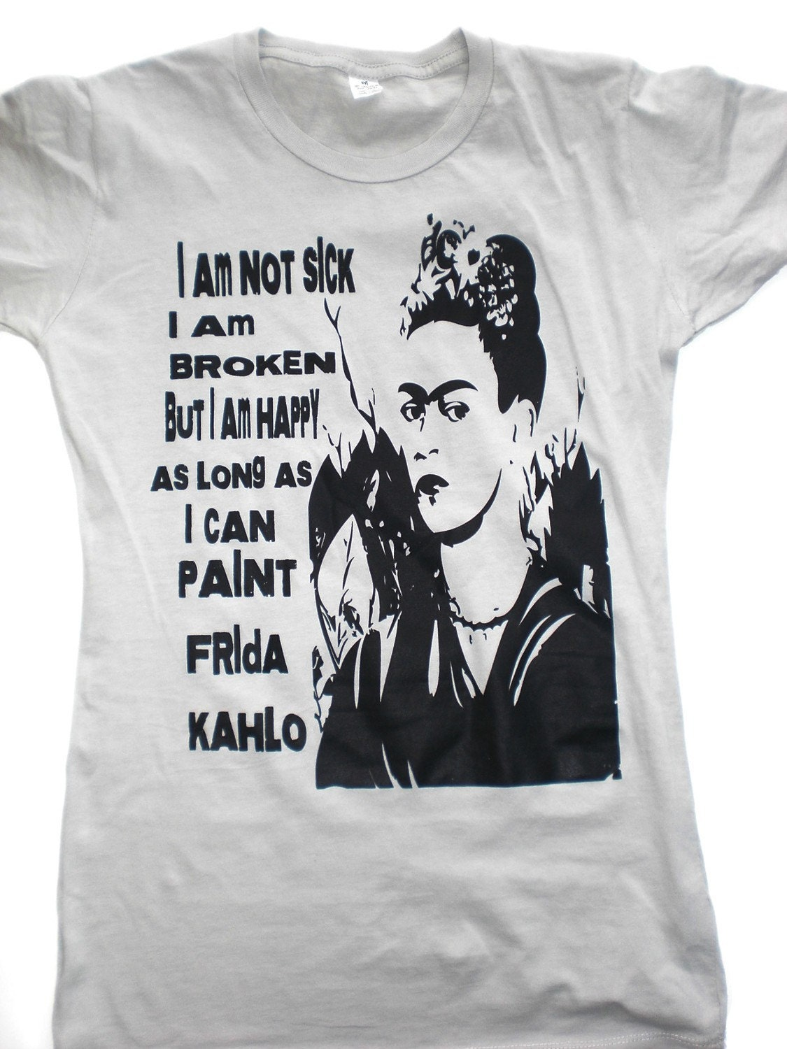 FRIDA KAHLO tshirt Alternative Apparel S-M-L