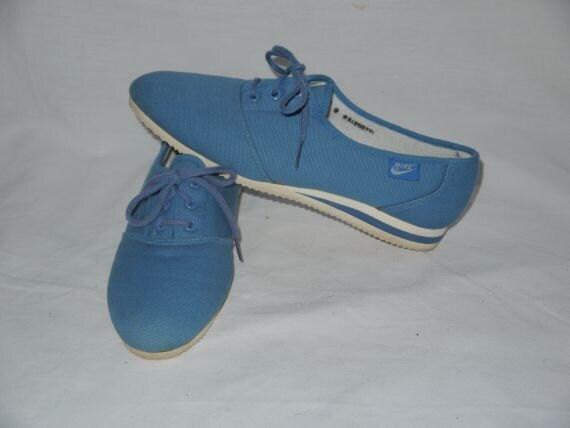 swoosh vintage 80s nike sneakers 1980s by