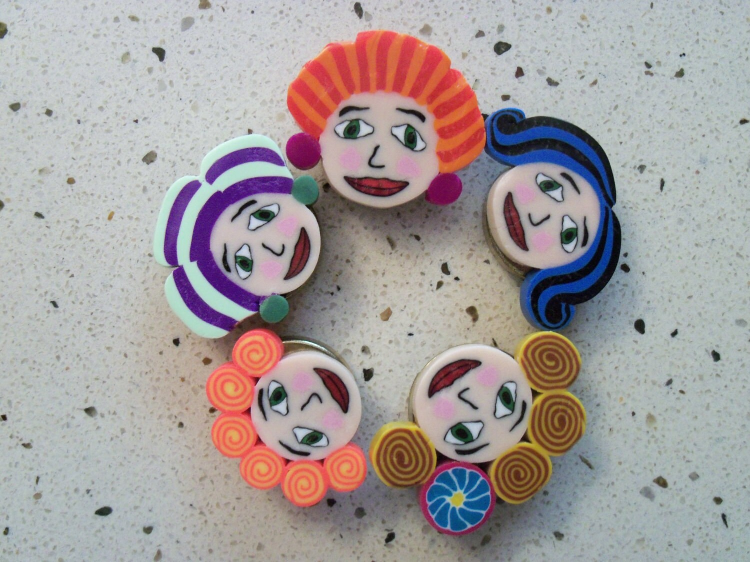 Polymer Clay Button Covers