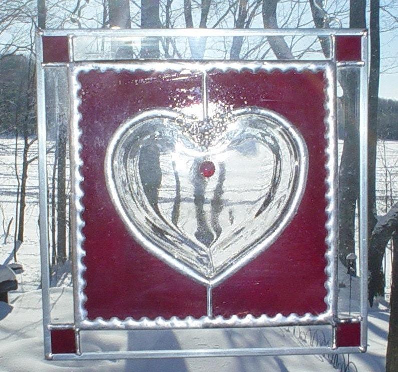 Valentine Heart panel Love
