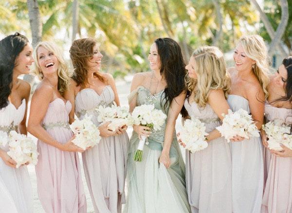 New Custom AsA Bridesmaids Dresses --The Abalone Style-- - ArmoursansAnguish