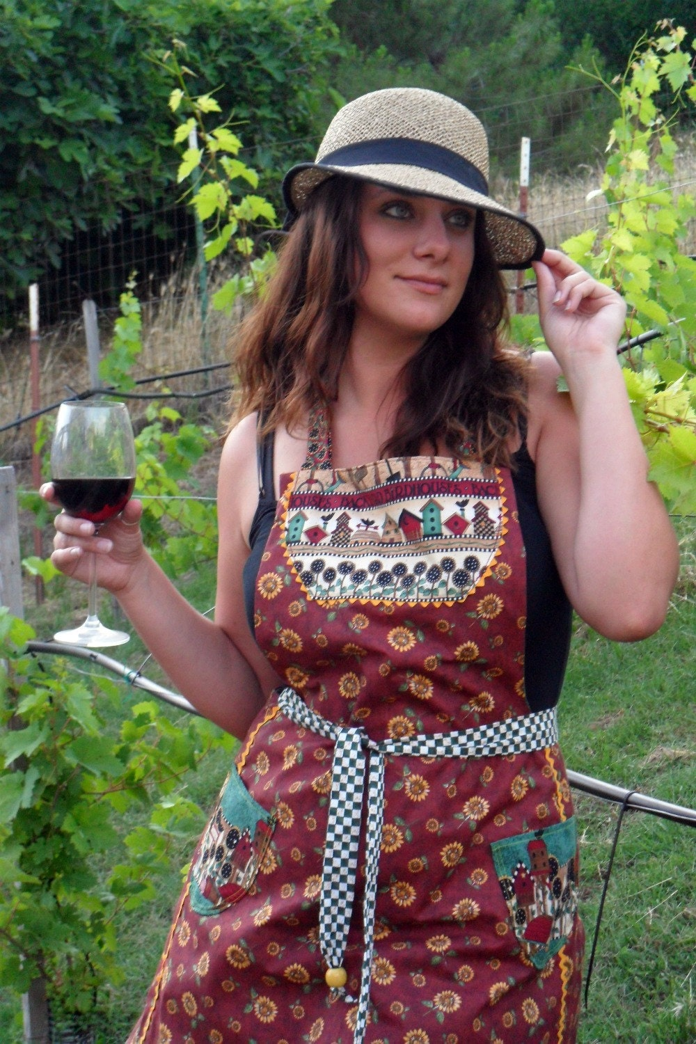Tuscan Sunflower REVERSIBLE Apron