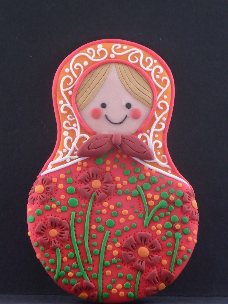 I have fallen in love with designing these beautiful Russian dolls.