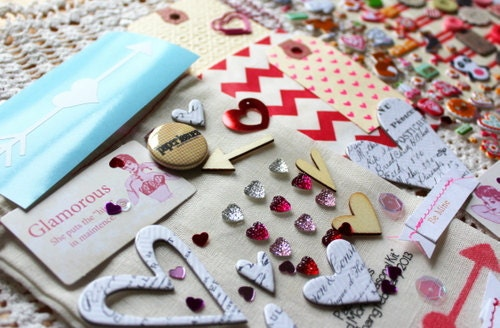 Sweet Thang Valentine Embellishment Kit