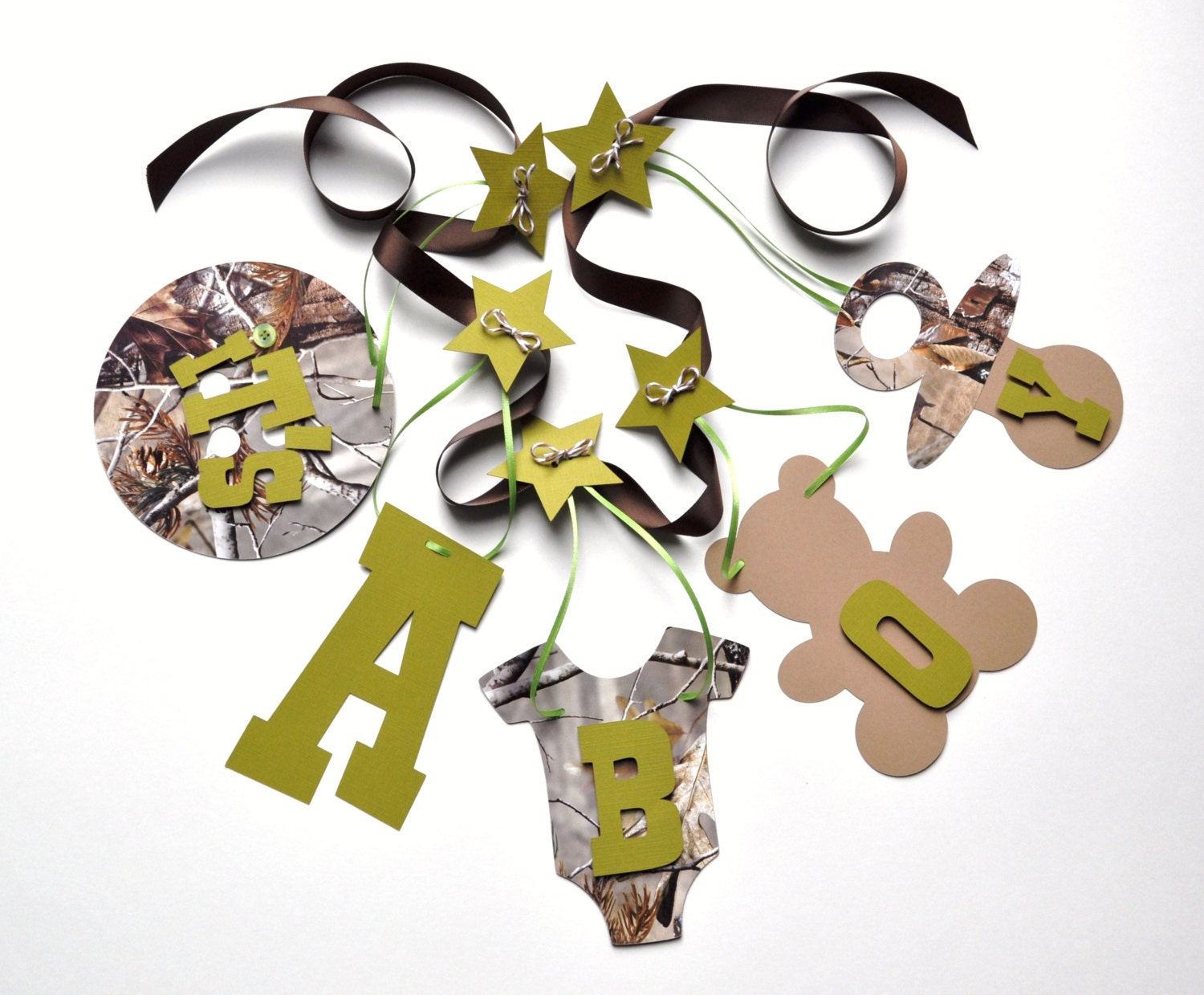 realtree camo baby shower decorations it 39 s a boy by parkersprints