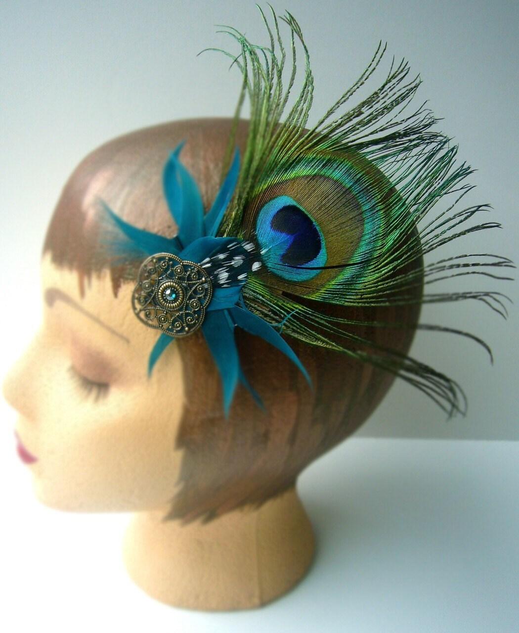 Feather Fascinator // Saraswati