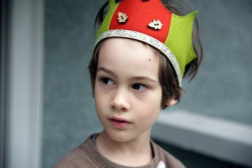Wool Felt Crown - Joy