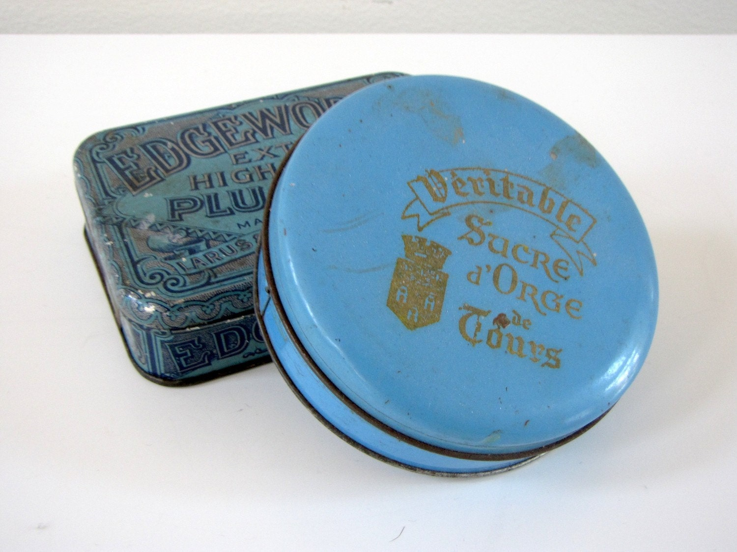 Vintage French Tin Box
