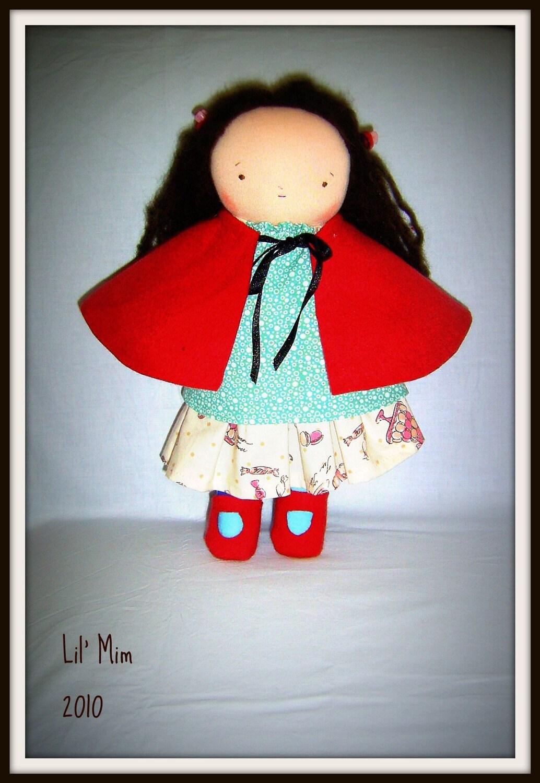 Lil Mim 12 inch doll - waldorf inspired