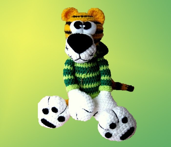 Amigurumi Pattern Tiger Kerusha. by LilikSha on Etsy