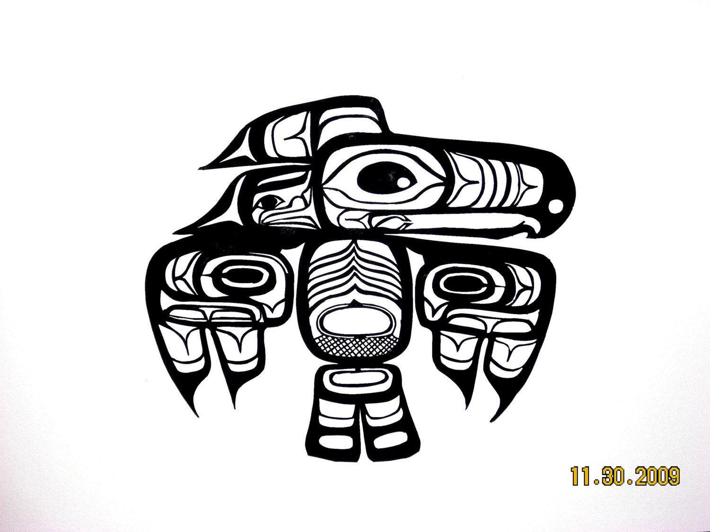 Native American Thunderbird Art