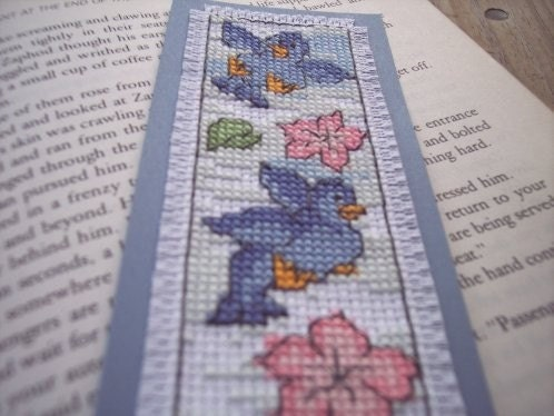 Bluebird Bookmark