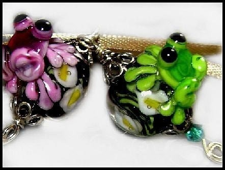 Prince Charmer Lampwork Tutorial and FREE Bead, By Laurie Donnette