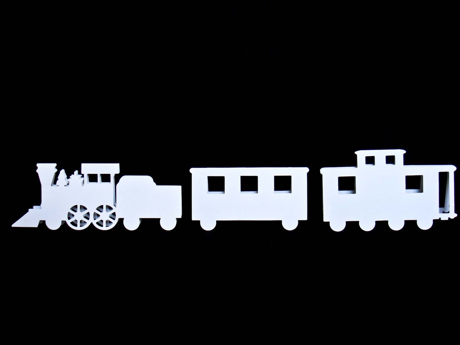 Train Engine Place Cards - set of 50