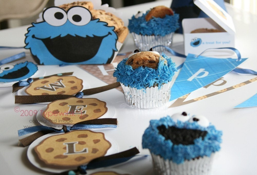 Party Planner likewise Party Planner additionally Cookie Monster Cartoon in addition Cookie Monster Party Pack Printable moreover Vintage Sesame Street Birthday Party. on sesame street party labels cookie