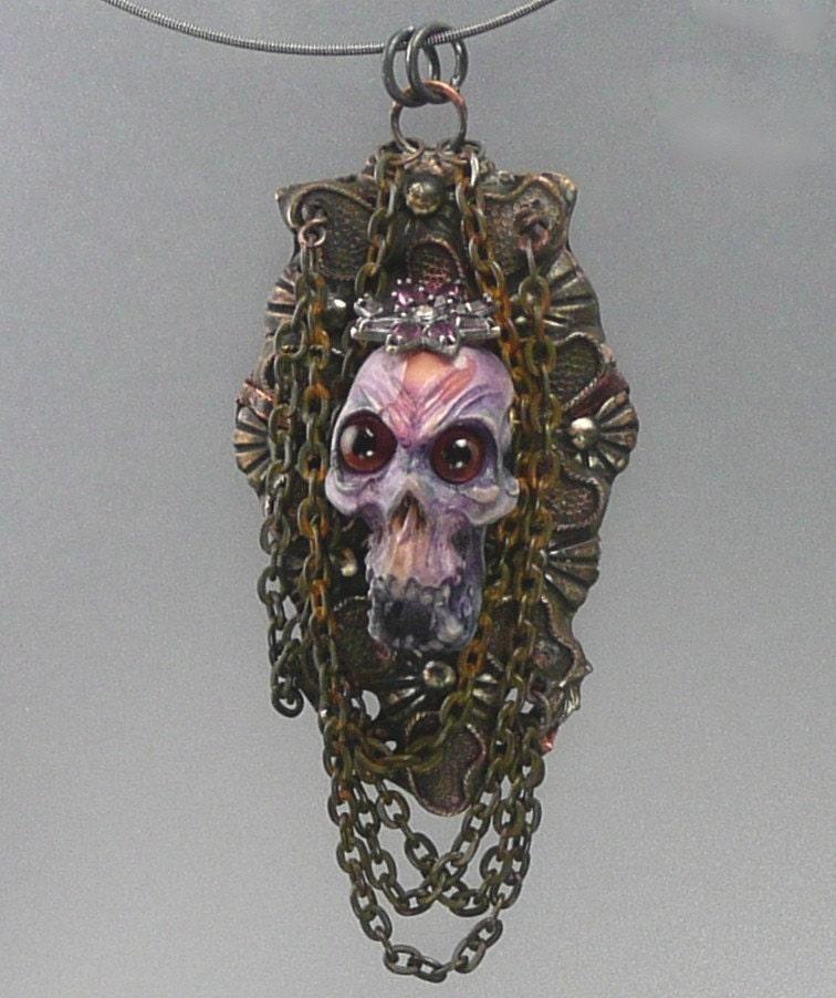 Simian Skull Necklace