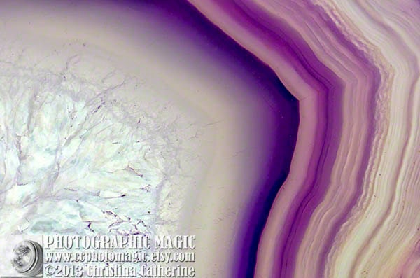 PURPLE AGATE - printable download high res - macro photography - rocks minerals geode crystal gem stone white grey violet lilac wheat ivory - ccphotomagic