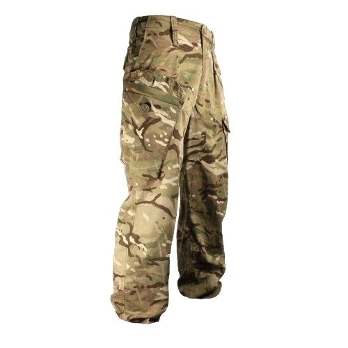 MTP Camouflage Warm Weather Trousers  British Army  Size Small Medium