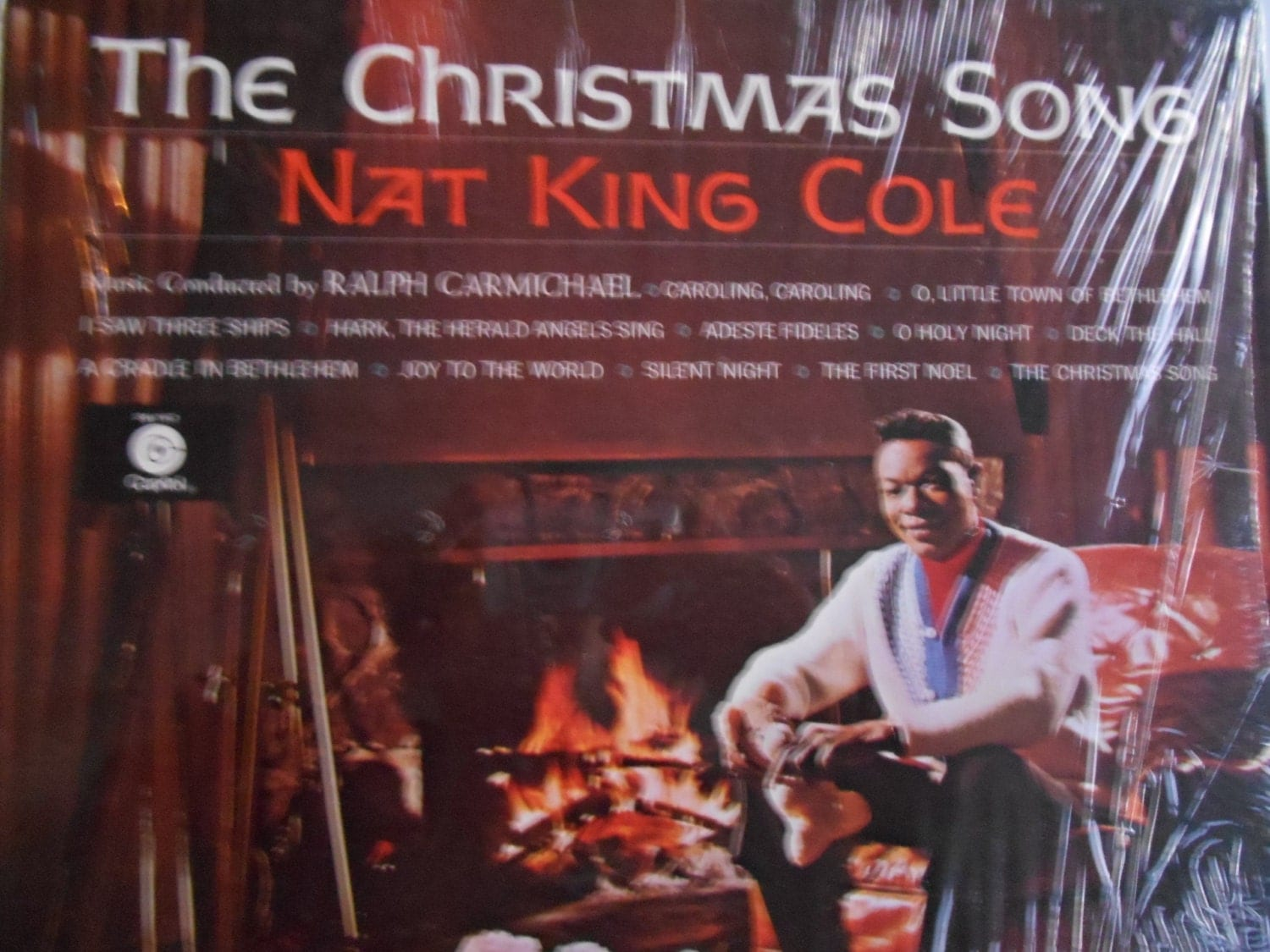 Nat King Cole The Christmas Song-vinyl record by TimelessTunes