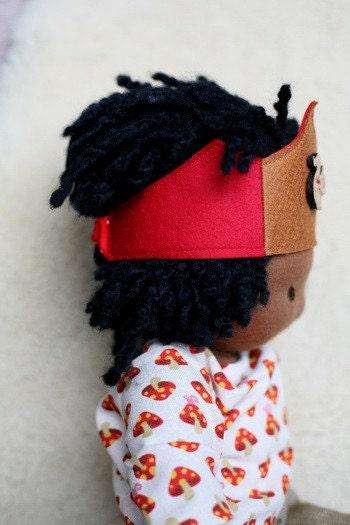 Bamboletta Doll Crown - Squirrel Hold for Tava