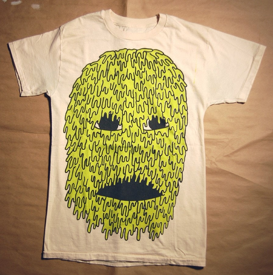 SLIME FACE - creme size small