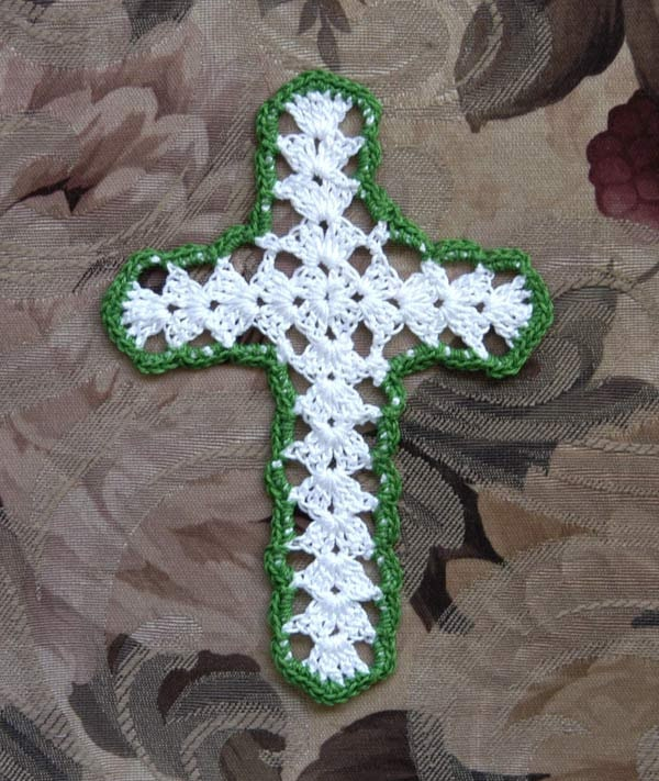 Crochet Cross : Pics Photos - Crochet Cross Bookmark Lady Crochet Bookmark Pattern ...