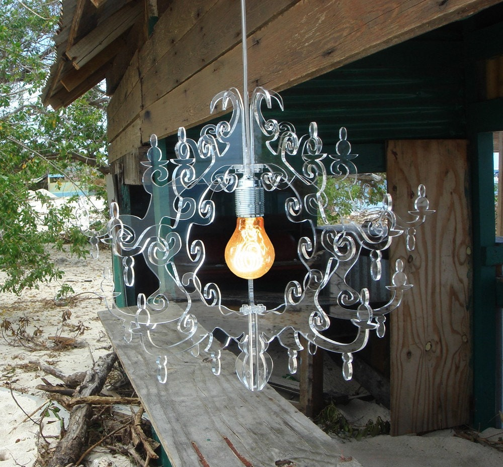 Claire de Lune Chandelier (7 arms) Colors